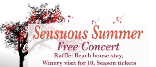 Sensuous Summer - Free Concert