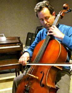 Composer and cellist Joseph Harchanko